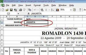 download jadwal imsyakiyah 1430 h