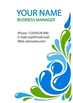 Download desain Kartu Nama, business card template, corel draw vector ...