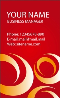 Download desain Kartu Nama, business card template, corel draw vector, masbadar.com