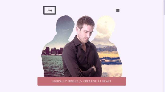 Desain Website Terbaik - Tercantik - Jim Ramsden