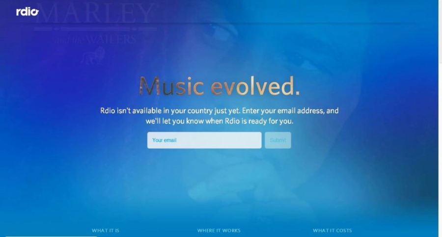 Desain Website Terbaik - Tercantik - Rdio