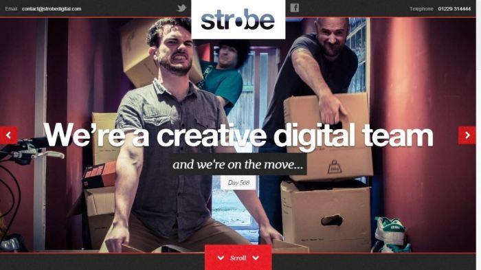 Desain Website Terbaik - Tercantik - Strobe Digital