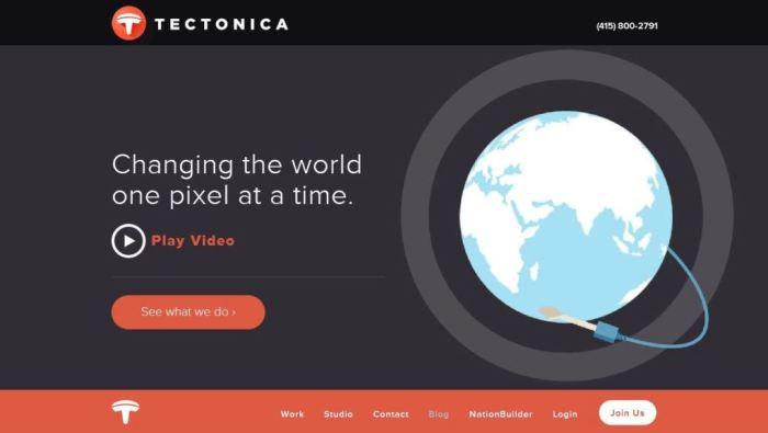 Desain Website Terbaik - Tercantik - Tectonica