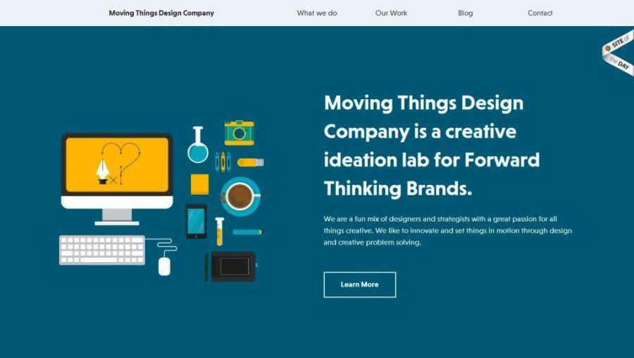 Desain Website Terbaik - Tercantik - We Are Moving Things