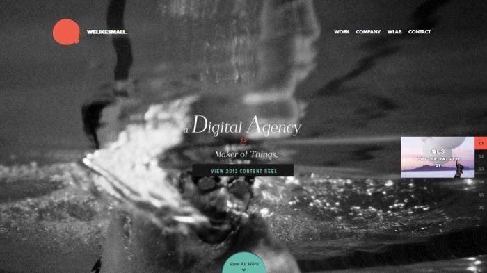 Desain Website Terbaik - Tercantik - We Like Small