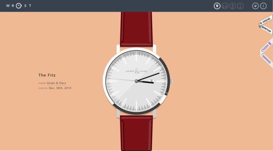 Desain Website Terbaik - Tercantik - Wrist