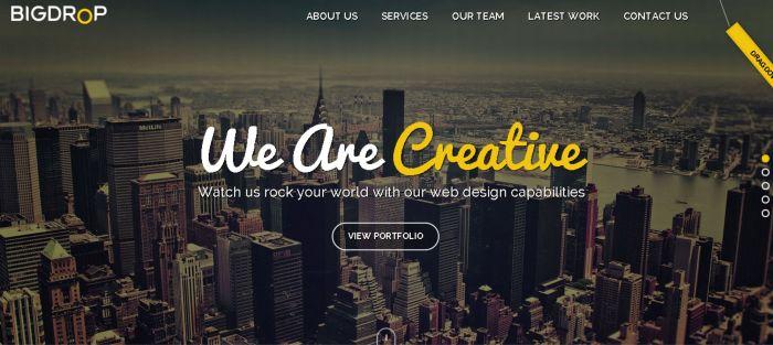 Developer Website Desain Responsive Terbaik - bigdropinc