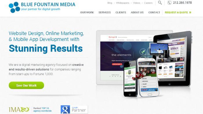 Developer Website Desain Responsive Terbaik - bluefountainmedia