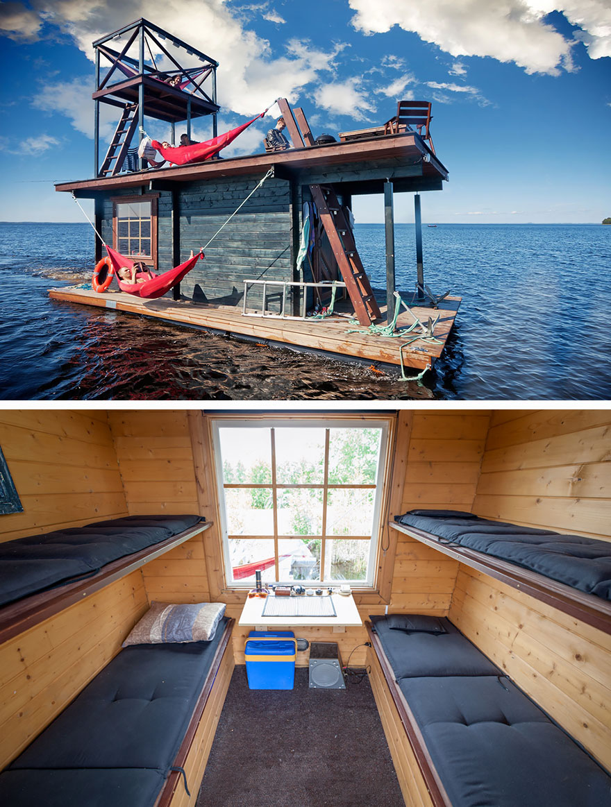 tiny-homes-perfect-for-little-space-floating-houseboat-in-finland